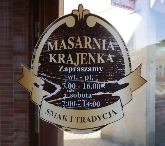 Otwarcie firmowego sklepu Zakładu Masarniczego z Krajenki.