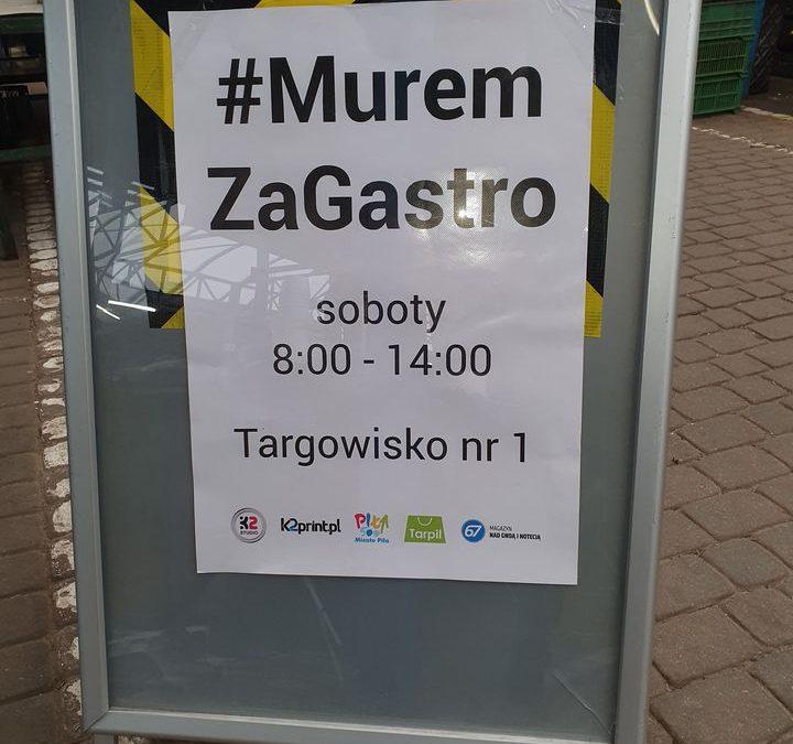 Kolejna sobota z akcją #MuremZaGastro